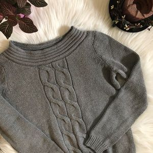 Izod Chunky Cable Knit Sweater